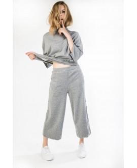 The cotton grey pants