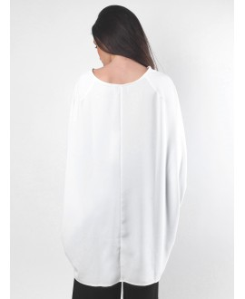 The white bat dress